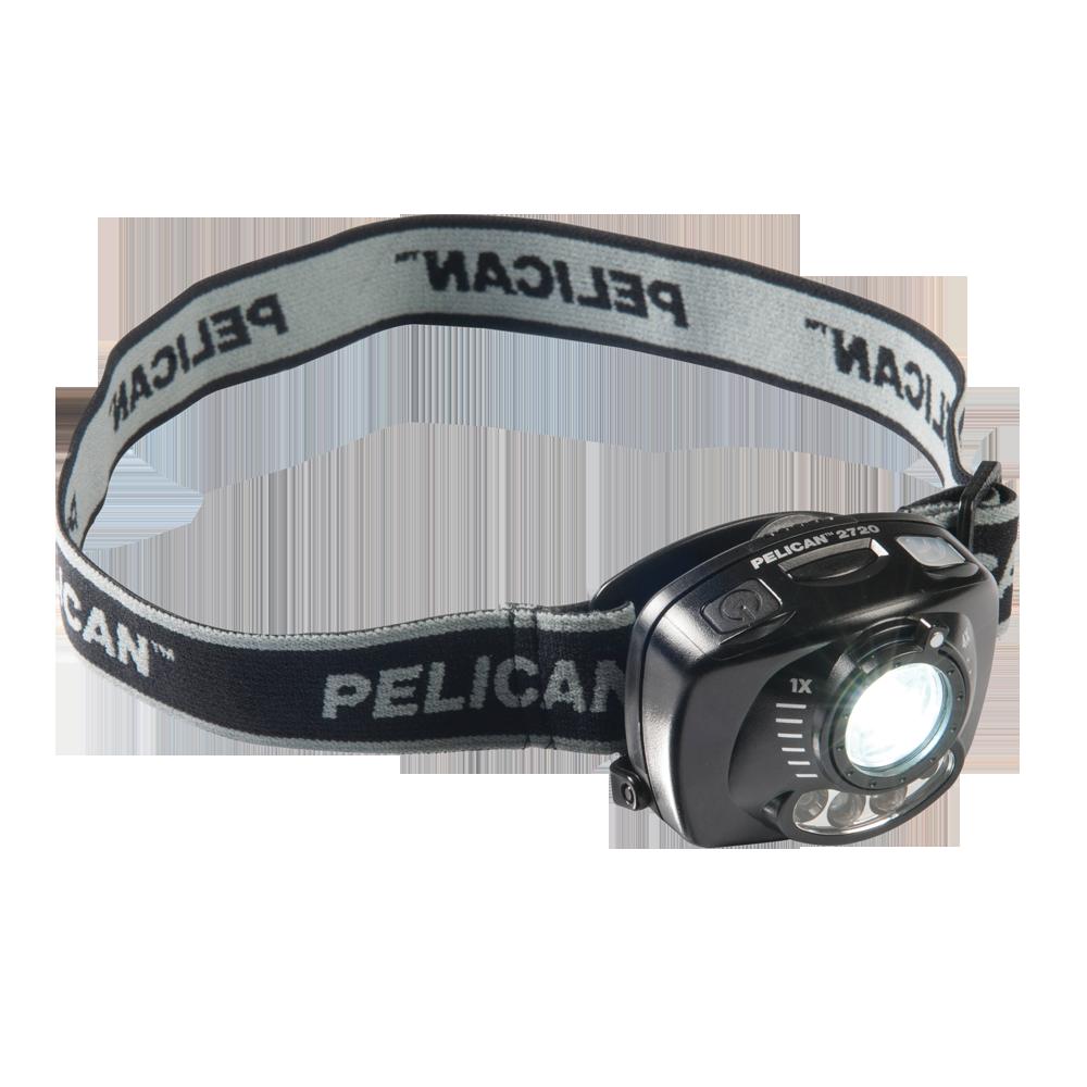 Čelové svítilny Peli
